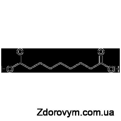 Азелаїнова кислота – формула